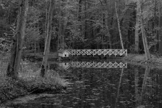 Den gamle dammen i Grønliparken, søndre Jeløy