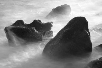Skulpturer i stein, Vrakbukta, søndre Jeløy